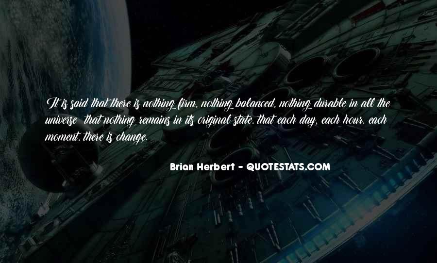 Brian Herbert Quotes #69637