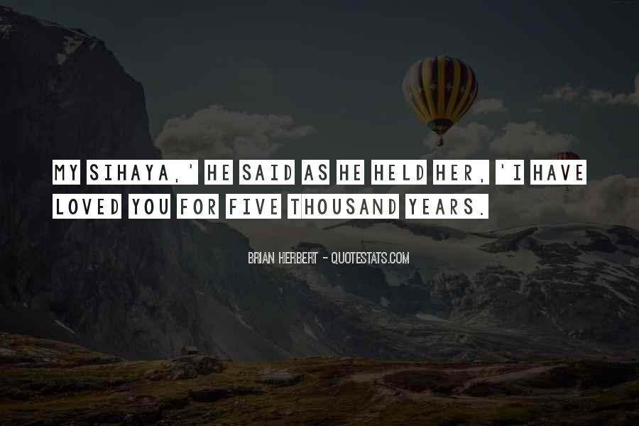 Brian Herbert Quotes #708259