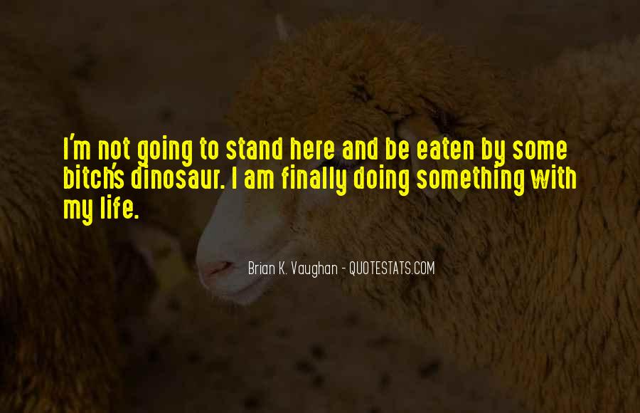 Brian K. Vaughan Quotes #445030