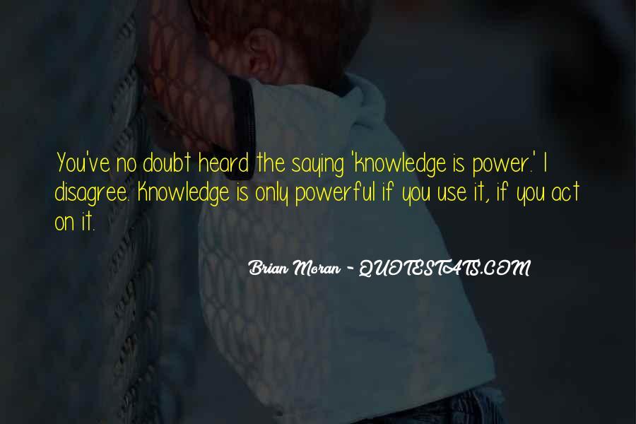 Brian Moran Quotes #164998