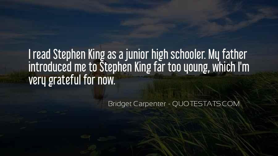 Bridget Carpenter Quotes #1543024