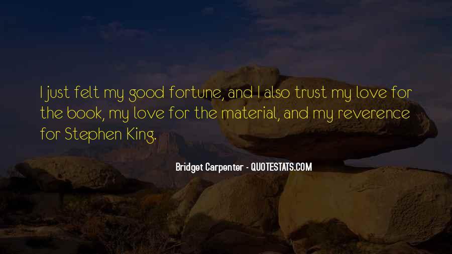 Bridget Carpenter Quotes #1607589