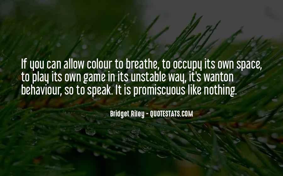 Bridget Riley Quotes #1034734