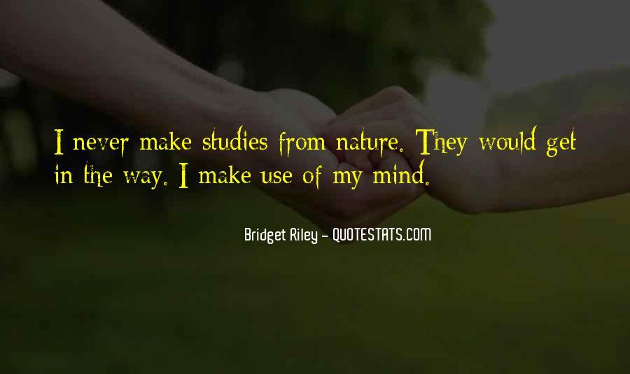 Bridget Riley Quotes #1674403