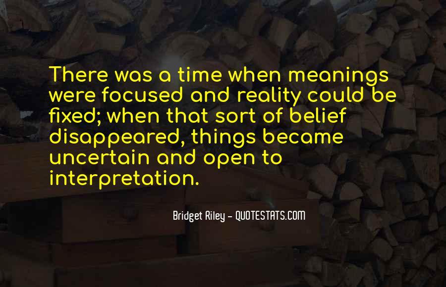 Bridget Riley Quotes #402531