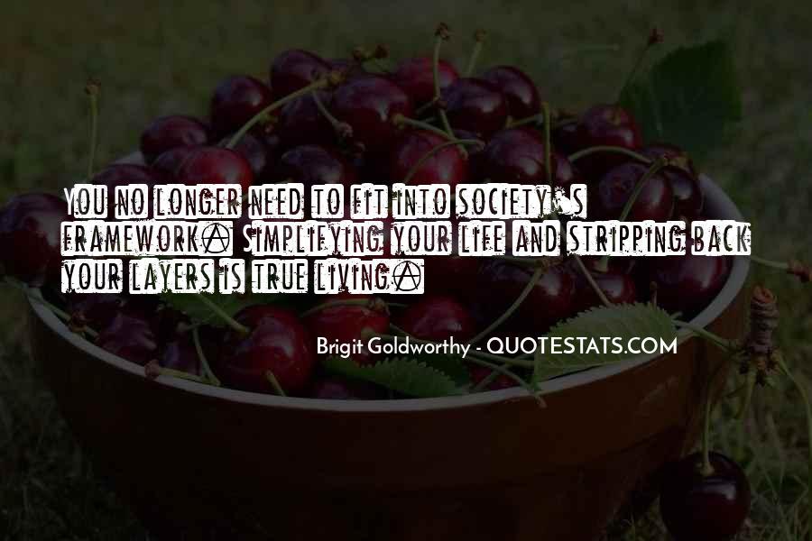 Brigit Goldworthy Quotes #630674