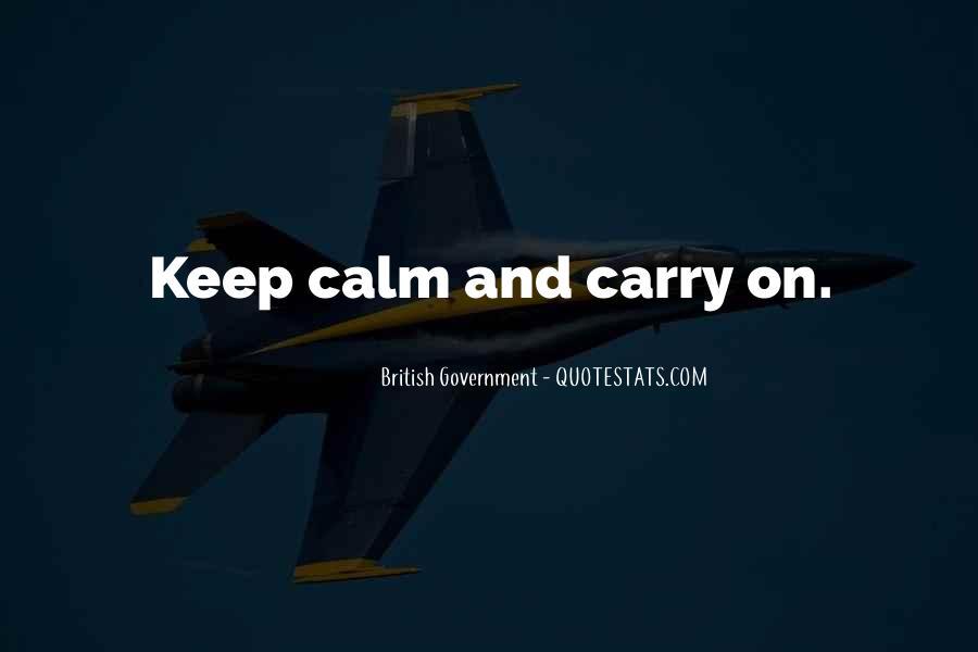 British Government Quotes #920117