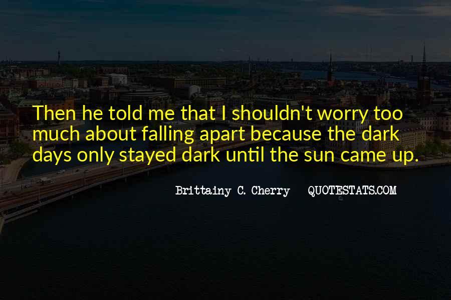 Brittainy C. Cherry Quotes #1269882