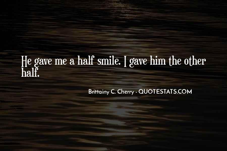 Brittainy C. Cherry Quotes #1647035