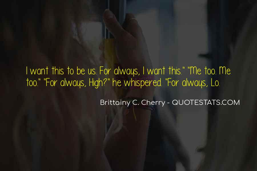 Brittainy C. Cherry Quotes #1674778