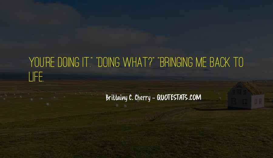 Brittainy C. Cherry Quotes #1710266