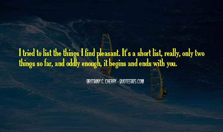 Brittainy C. Cherry Quotes #1749402