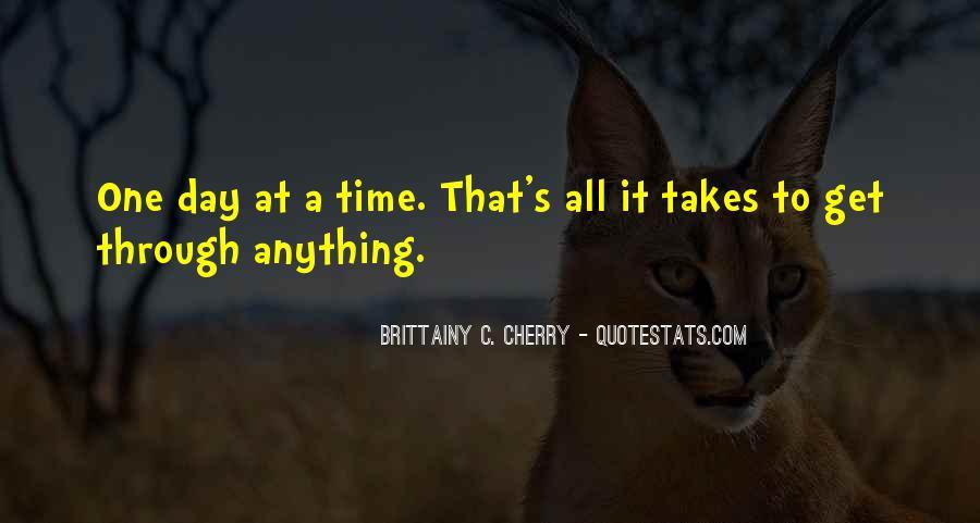 Brittainy C. Cherry Quotes #323046