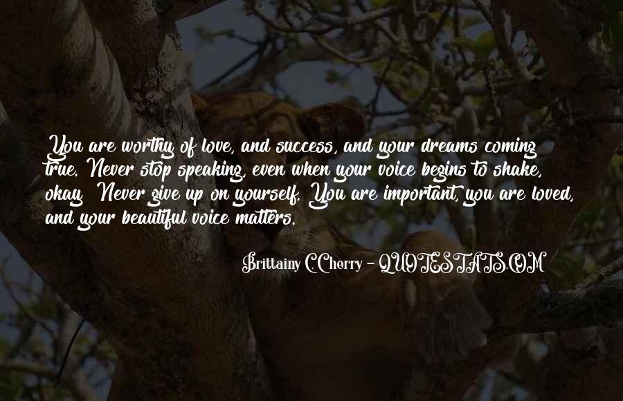 Brittainy C. Cherry Quotes #350383