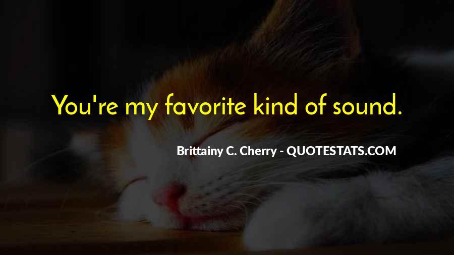 Brittainy C. Cherry Quotes #855596