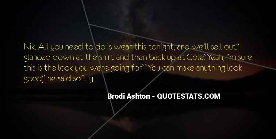 Brodi Ashton Quotes #1061359