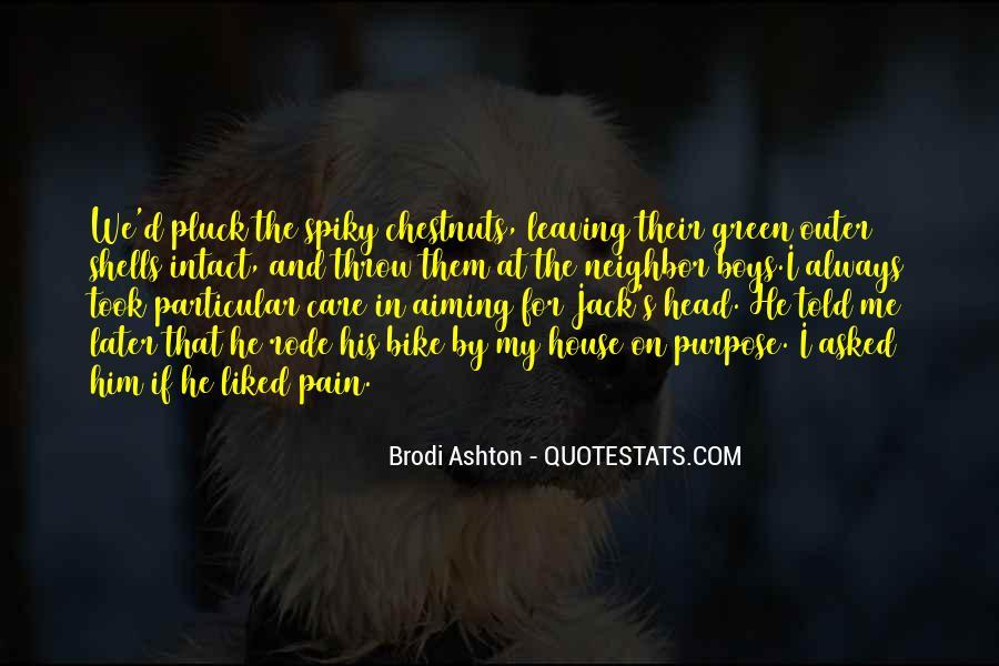 Brodi Ashton Quotes #1085309