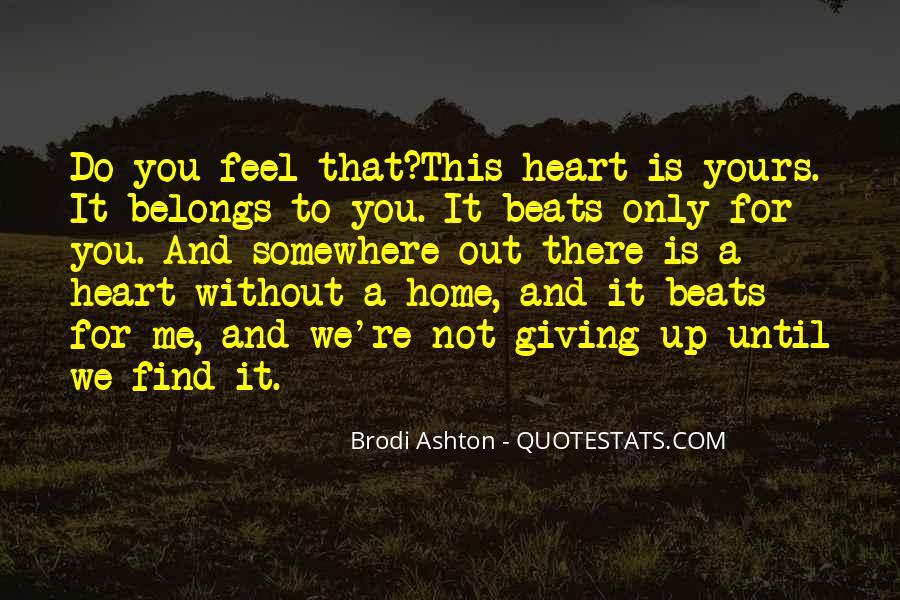 Brodi Ashton Quotes #1670469