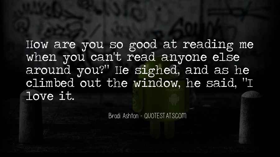 Brodi Ashton Quotes #549982