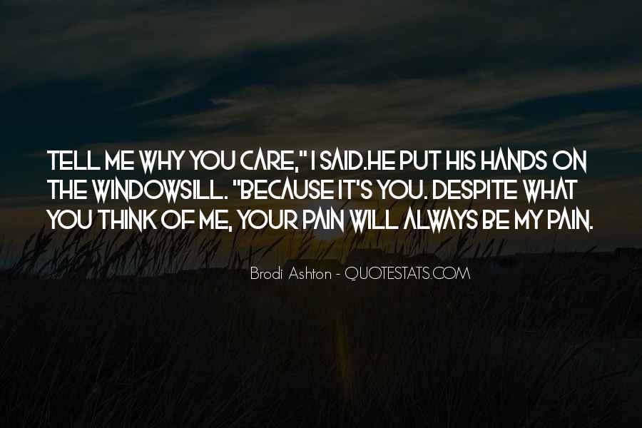 Brodi Ashton Quotes #93346