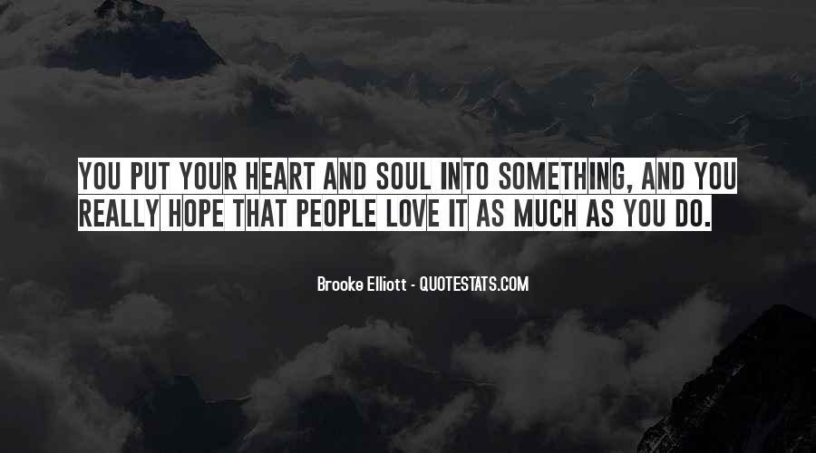 Brooke Elliott Quotes #1220333