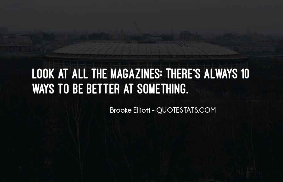 Brooke Elliott Quotes #97155