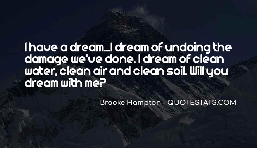 Brooke Hampton Quotes #1097287