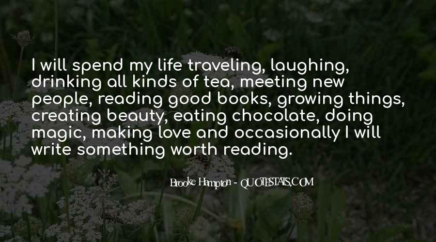 Brooke Hampton Quotes #1337369