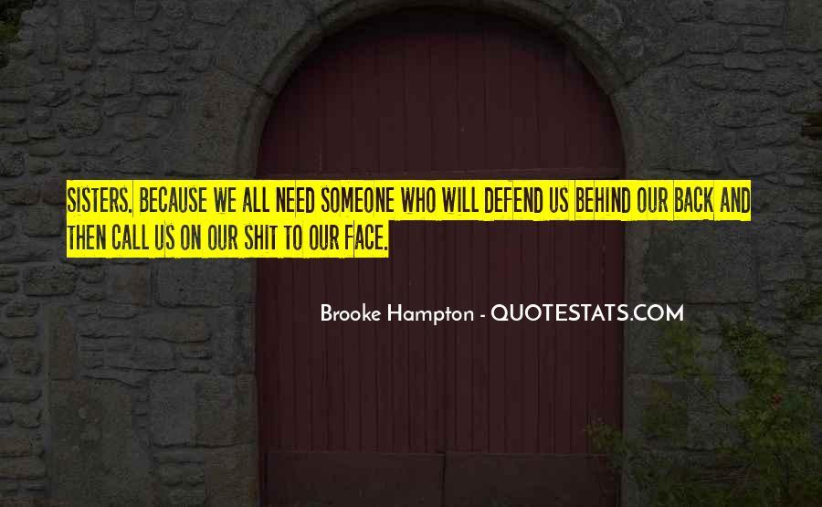 Brooke Hampton Quotes #1572038