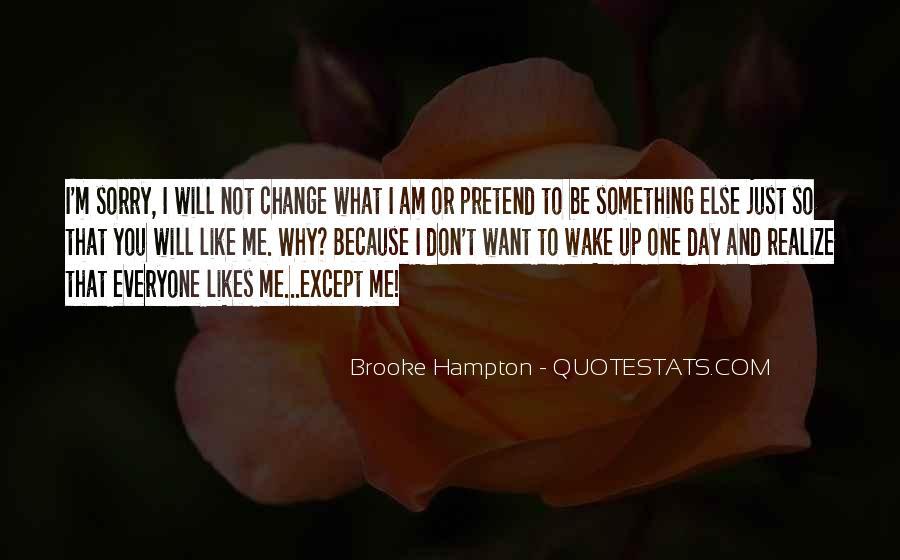 Brooke Hampton Quotes #237081