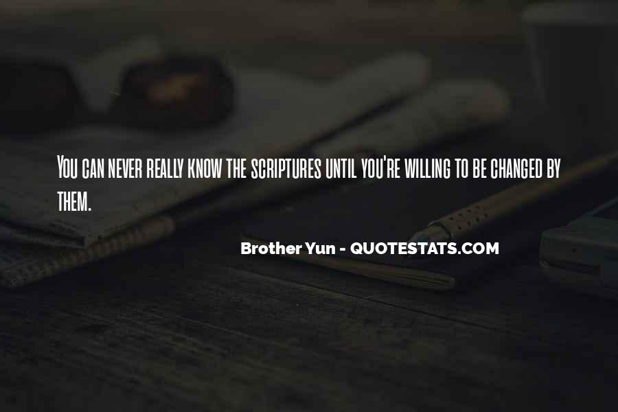 Brother Yun Quotes #1014760
