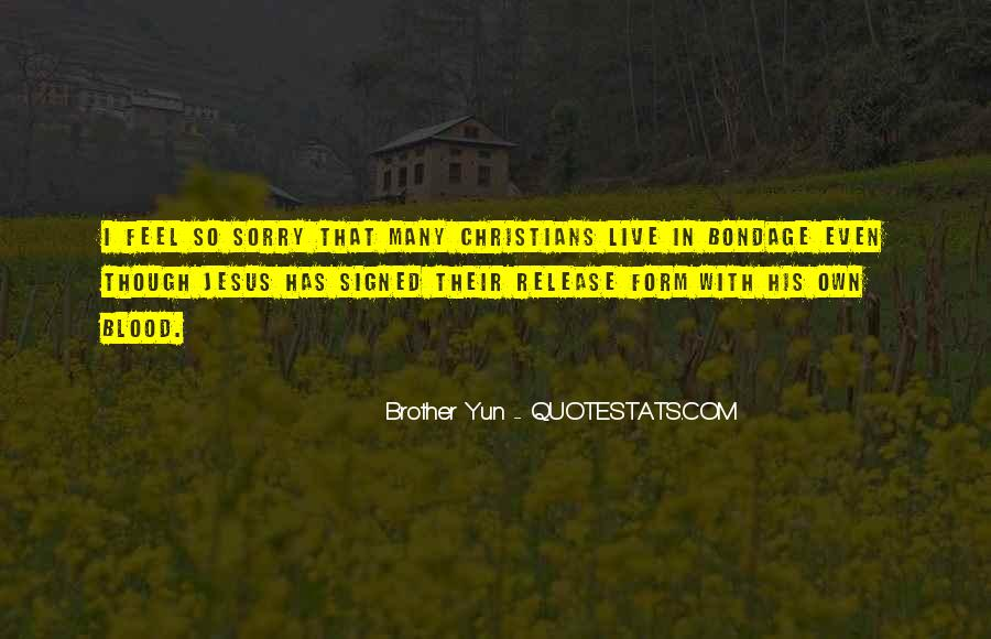 Brother Yun Quotes #1630887