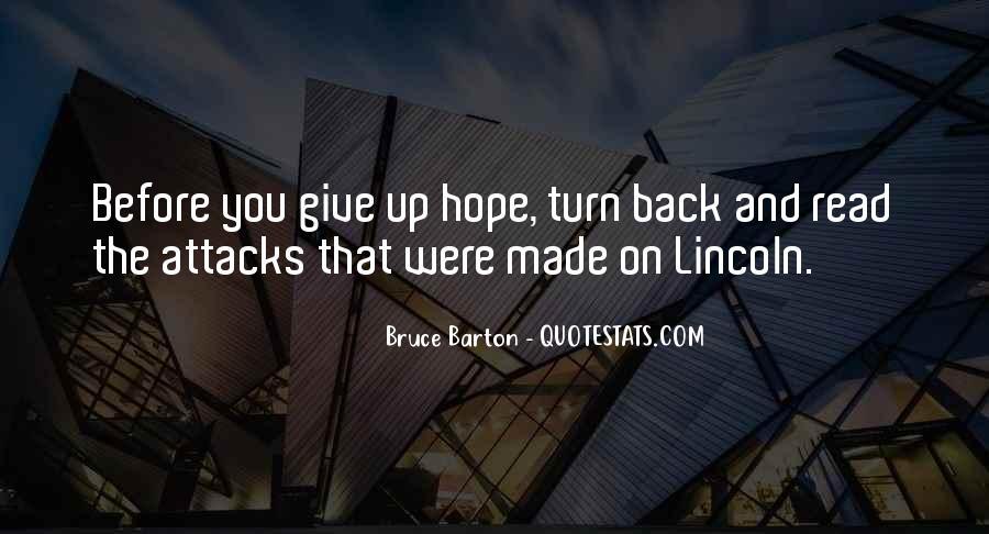 Bruce Barton Quotes #137498