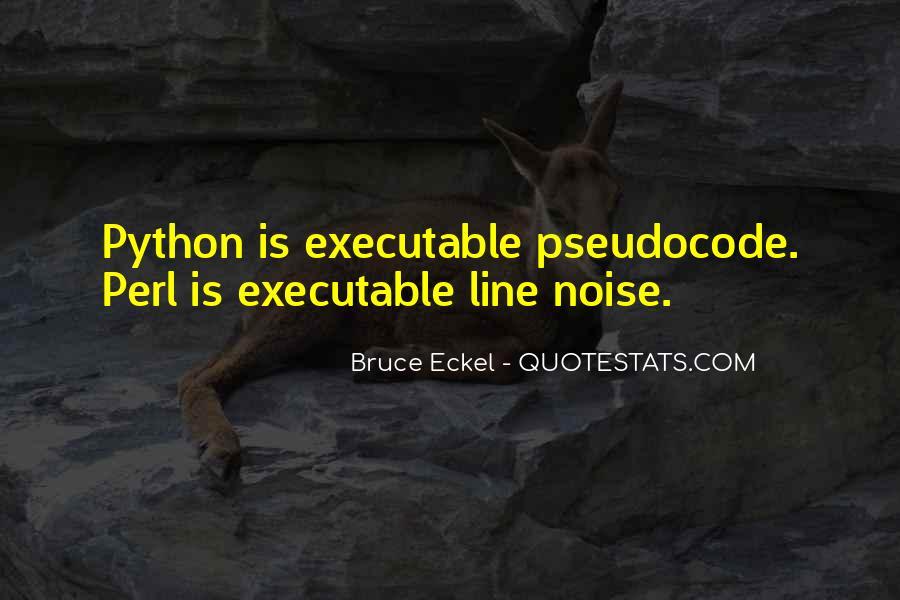 Bruce Eckel Quotes #244782