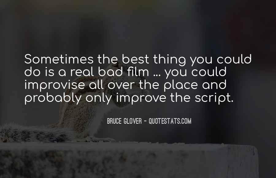 Bruce Glover Quotes #175709