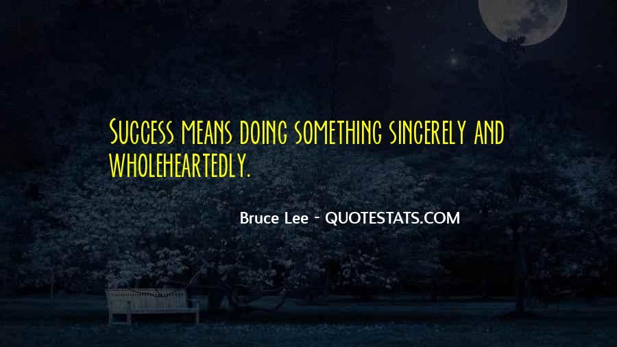 Bruce Lee Quotes #1296077