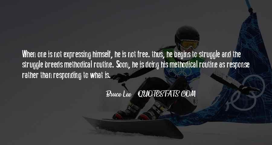 Bruce Lee Quotes #1309976