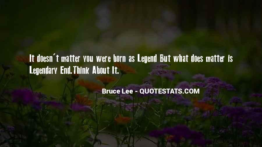 Bruce Lee Quotes #1780200