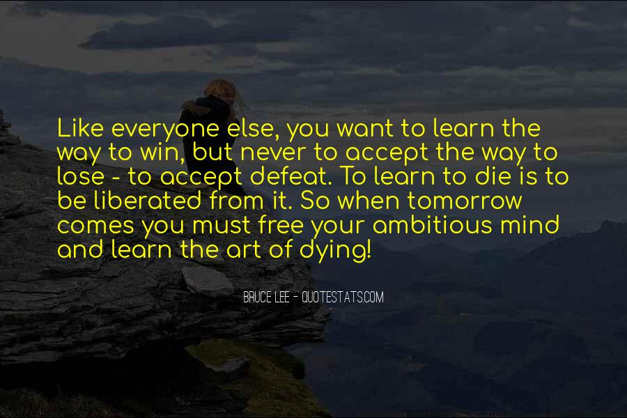Bruce Lee Quotes #261511