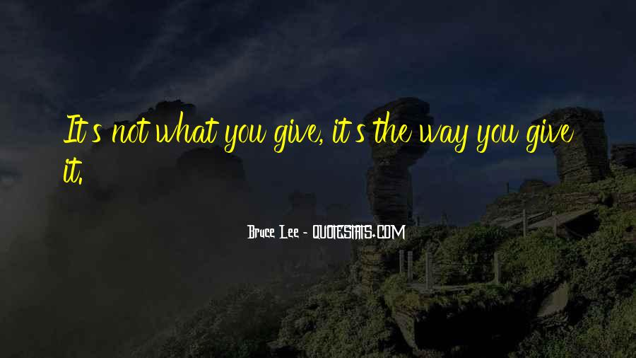 Bruce Lee Quotes #542375