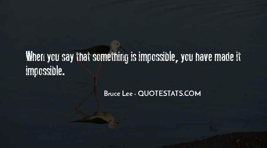 Bruce Lee Quotes #861798
