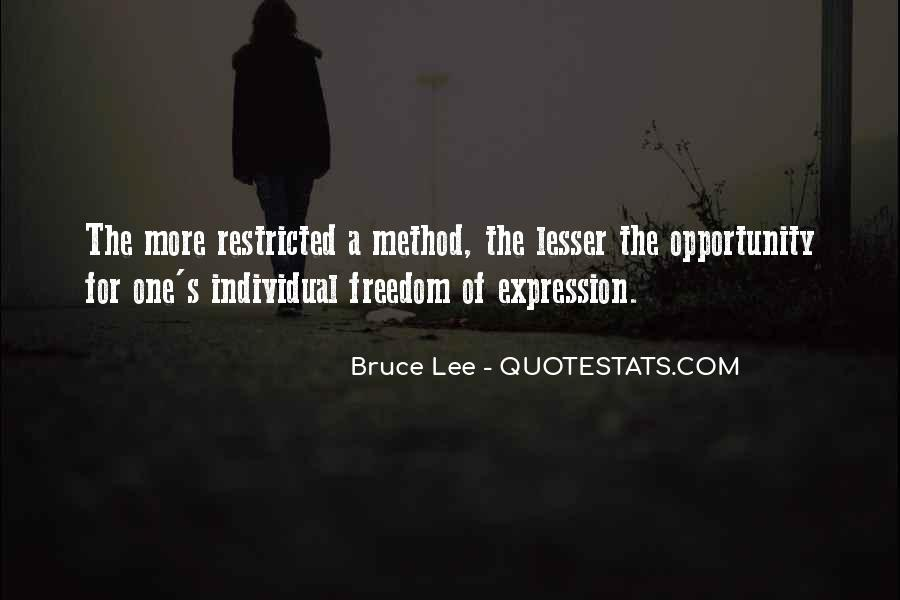 Bruce Lee Quotes #957844