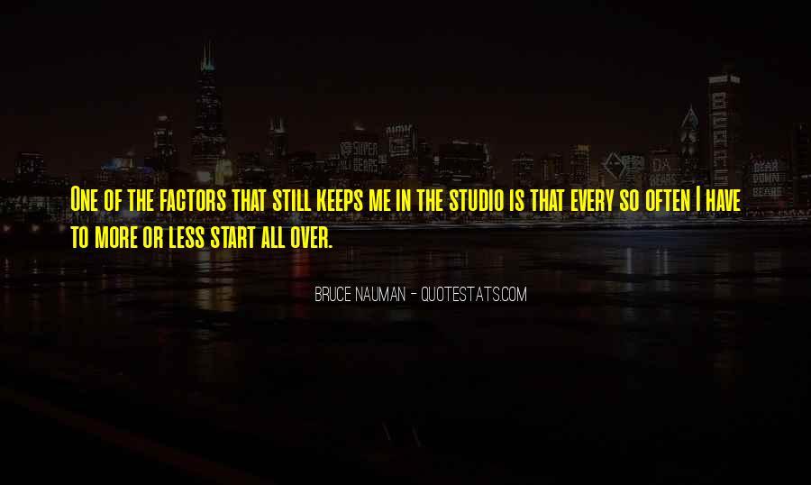 Bruce Nauman Quotes #554072