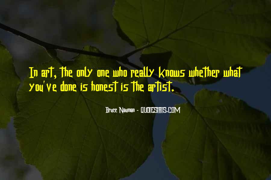 Bruce Nauman Quotes #963334