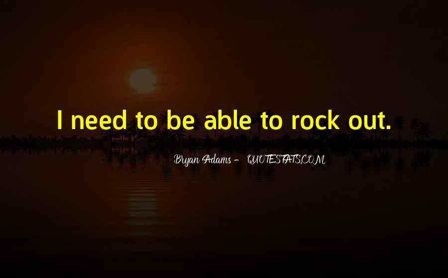 Bryan Adams Quotes #469688