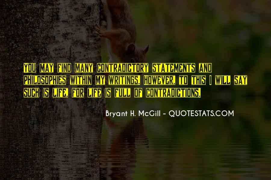 Bryant H. McGill Quotes #1160815