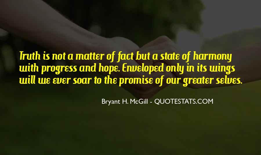Bryant H. McGill Quotes #1359081