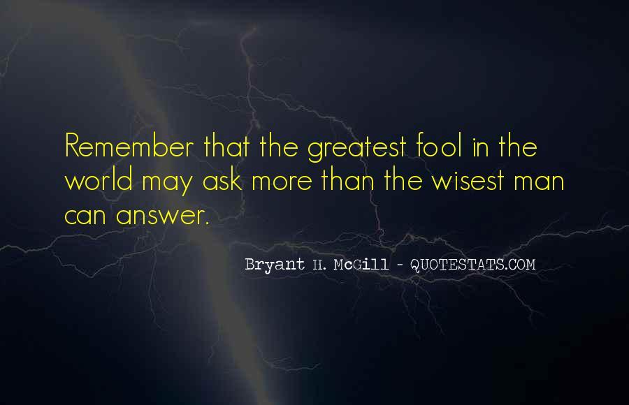 Bryant H. McGill Quotes #1425133