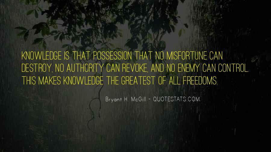 Bryant H. McGill Quotes #318301