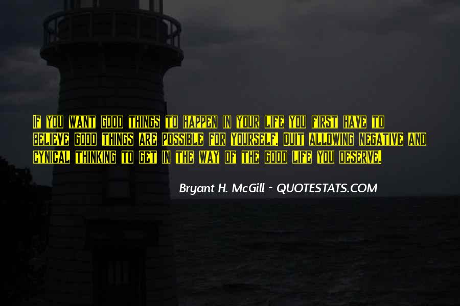 Bryant H. McGill Quotes #357379
